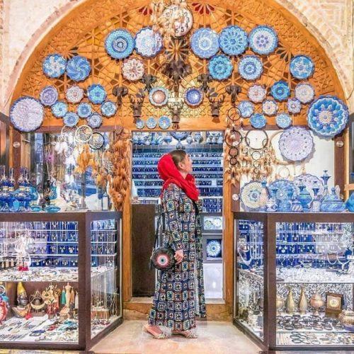 Persian-Bazaar-Vakil-Bazaar-Iran-tours-Zhinopars