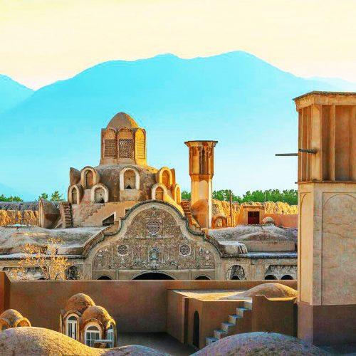 Persian-Houses-boroujerdiha-House-kashan-Iran-zhinopars